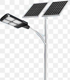 Streetlight - Solar Street Light LED Street Light LED Lamp Solar Lamp PNG