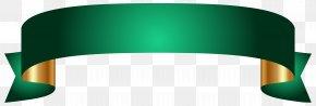 Green Banner Transparent Clip Art Image - Banner Clip Art PNG