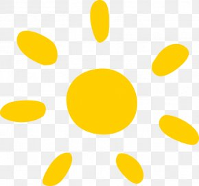 Yellow Cartoon Sun - Cartoon Download Yellow Pattern PNG