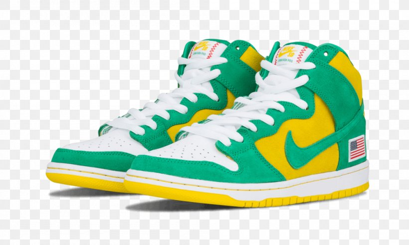 Air Force Sneakers Skate Shoe Nike Dunk, PNG, 1000x600px