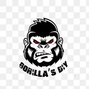 Gorilla - Ape Gorilla Logo Monkey PNG