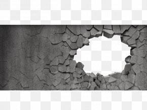 Broken Wall - Stone Wall Stock Photography Wall Decal Brick PNG