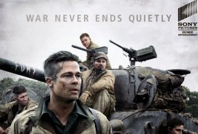 Brad Pitt - Brad Pitt Hollywood Fury Wardaddy Film PNG