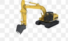 Excavator - 3D Modeling Excavator 3D Computer Graphics Cinema 4D Wavefront .obj File PNG