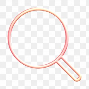 Pink Search Icon - Browse Icon Explore Icon Find Out Icon PNG