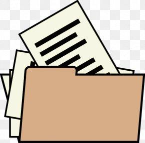 File Formats - Drawing Line Art File Folders Clip Art PNG