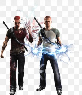Good And Evil - PlayStation All-Stars Battle Royale Infamous: Festival Of Blood Infamous 2 Jak And Daxter: The Precursor Legacy PNG