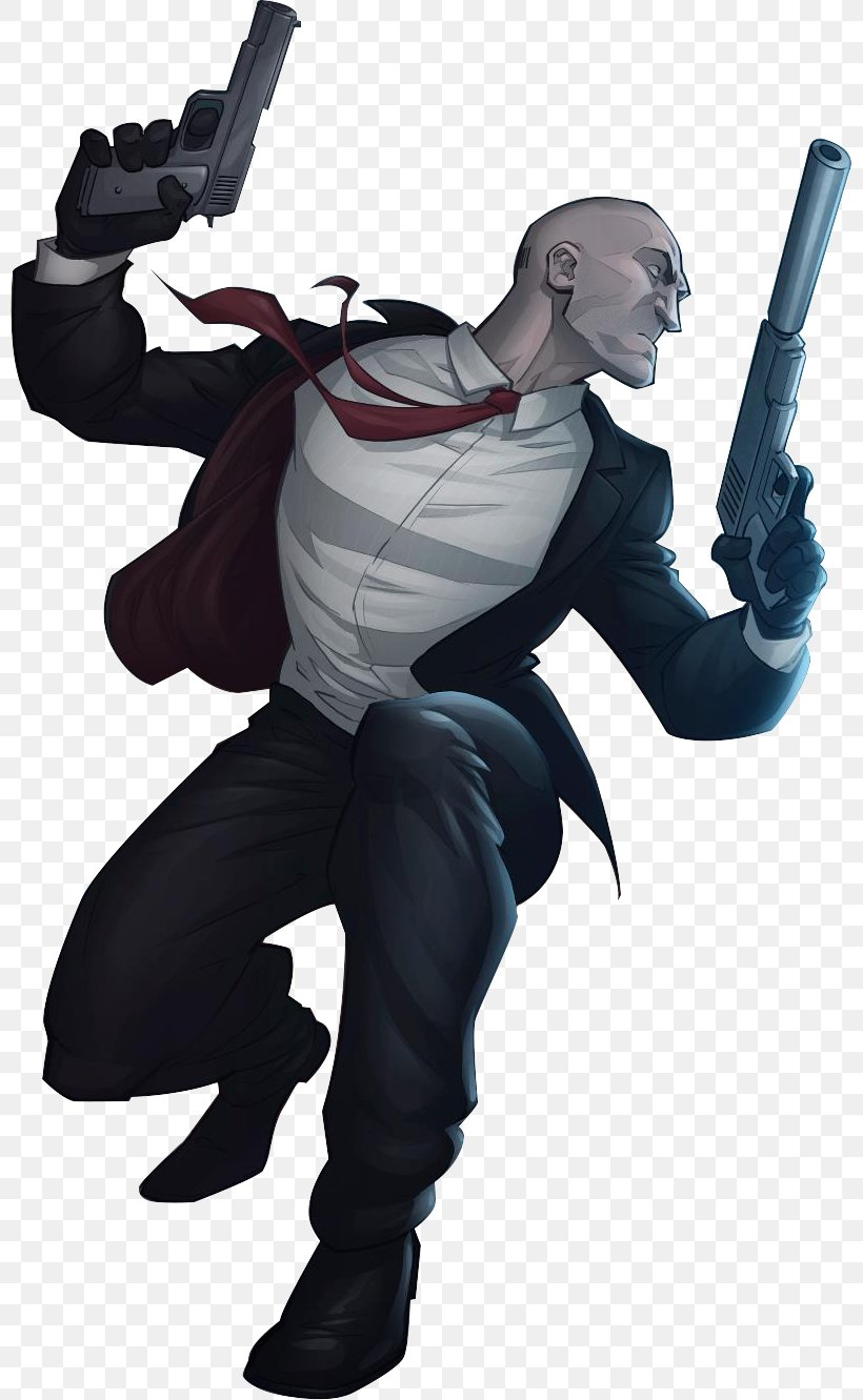 Hitman Absolution Hitman 2 Silent Assassin Agent 47 Rendering
