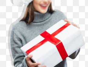 Women Gifts With Shadow - Santa Claus Christmas Hat Cap Woman PNG