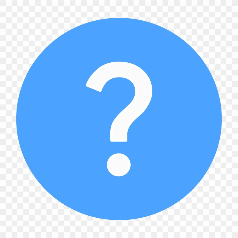 Icon, PNG, 2000x2000px, Question Mark, Area, Blue, Brand, Button Download Free