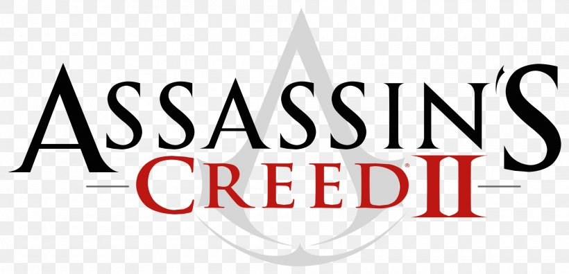 Assassin's Creed II Ezio Auditore Logo Downloadable Content PlayStation 3, PNG, 2000x967px, Ezio Auditore, Brand, Downloadable Content, Game, Logo Download Free