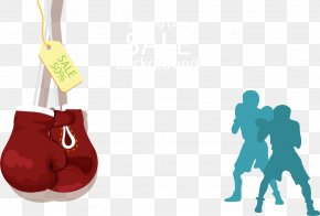 Boxing Gloves Background - Boxing Glove Clip Art PNG