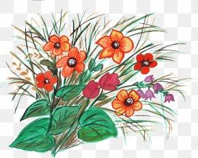 Flower Ornaments - Cut Flowers Floral Design Floristry Flower Bouquet PNG