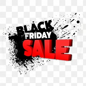 Black Friday Shopping Spree Three-dimensional Characters - Black Friday Sales Coupon Retail Shopping PNG