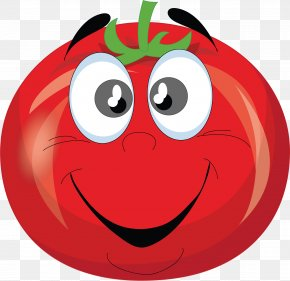 Tomato - Vegetable Tomato Cartoon Clip Art PNG