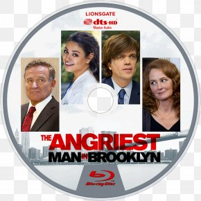 Peter Dinklage - Mila Kunis The Angriest Man In Brooklyn Blu-ray Disc United States Lions Gate Entertainment PNG