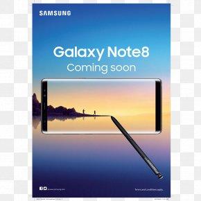 Smartphone - Samsung Galaxy Note 8 Samsung Galaxy S8 Smartphone Telephone PNG