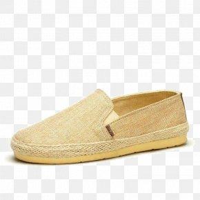 Canvas Flat Sandals - Slip-on Shoe Sandal Canvas PNG