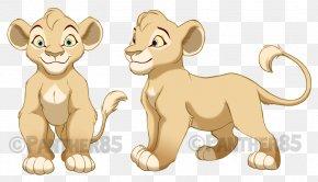 Lion - Lion Kiara Comics Drawing Kovu PNG