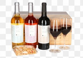 Wine - Dessert Wine Glass Bottle Liqueur Red Wine PNG