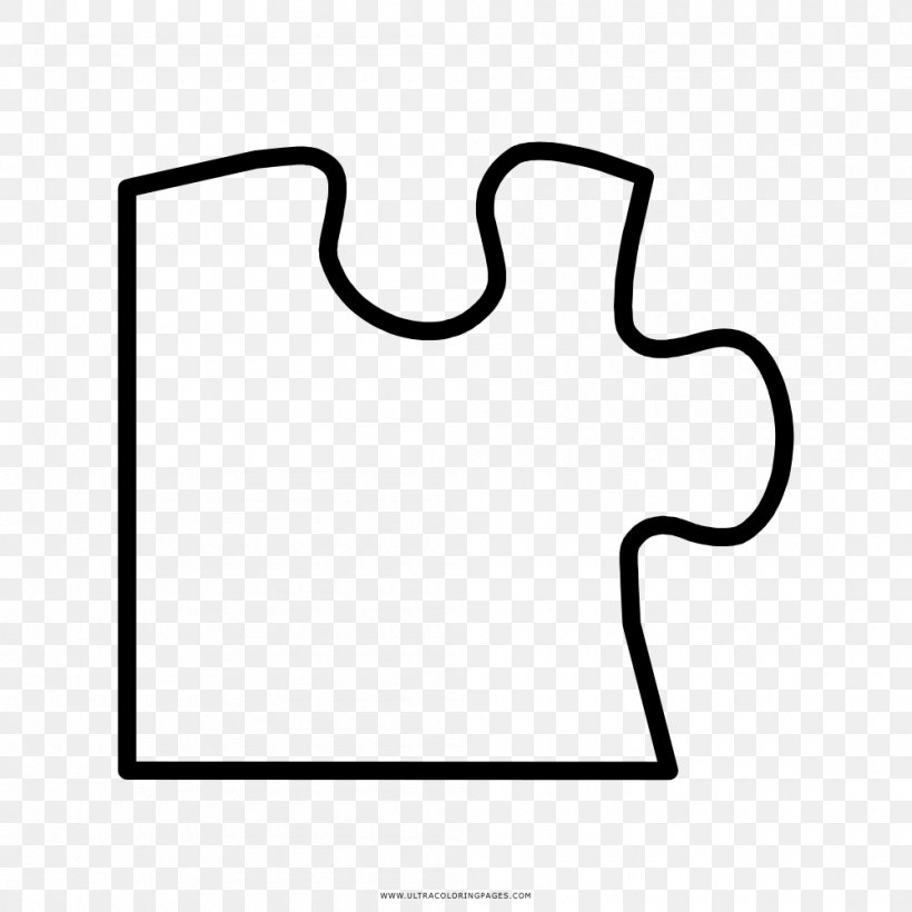 Jigsaw Puzzles Coloring Book Drawing Child, PNG, 1000x1000px ...
