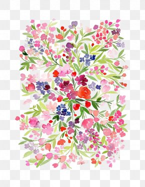 Watercolor Flowers - Watercolour Flowers Watercolor Painting Floral Design PNG