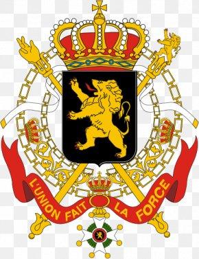 Besar Negara Coatofarms - Coat Of Arms Of Belgium National Coat Of Arms Flag Of Belgium PNG