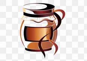 Vector Coffee Cup - Irish Coffee Tea Cappuccino PNG