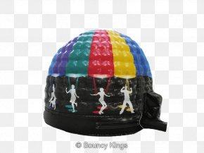 Bouncy Castle - Baseball Cap Disco Dome Hire Nottingham Derby Leicester City F.C. PNG