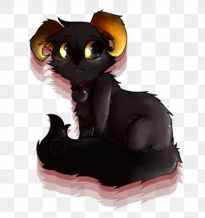 Pictures Of Black Cats With Green Eyes - Black Cat Kitten Homestuck Clip Art PNG