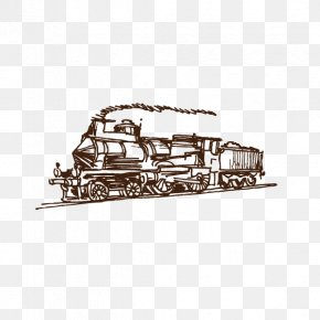 Train,steam Train,Retro - Train Tram Rapid Transit Rail Transport Steam Locomotive PNG