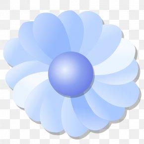 Blue Flower - Blue Flower Blue Flower Clip Art PNG
