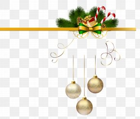Christmas Elements - Christmas Ornament Santa Claus Gift PNG