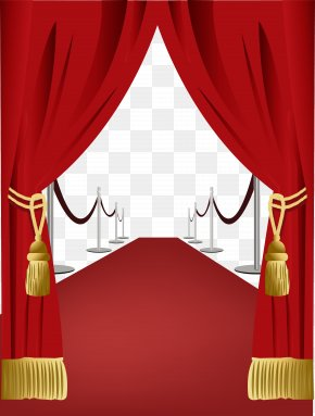 Curtain Red Carpet Welcome - Curtain Red Carpet Light PNG