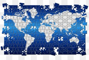 World Map Puzzle - Jigsaw Puzzle Globe World Puzz 3D PNG
