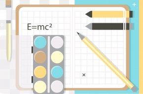 Mathematics Color Pencil - Paper Pencil PNG