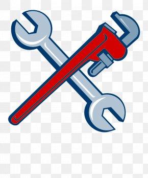 Logo Pipe Wrench - Monkey Cartoon PNG