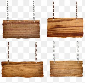 Chains Hanging Wooden Signs Picture - Sign Shutterstock PNG