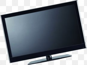 Black Computer Monitor Renderings - Television Set Computer Monitor Output Device PNG