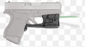 Shooting Traces - Trigger Firearm Glock Sight Crimson Trace PNG