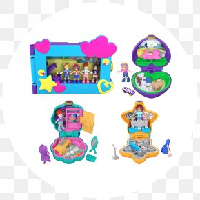 Polly Pocket - Playset Polly Pocket Toy Doll Mattel PNG