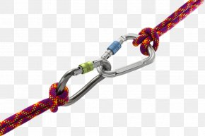 Pull A Cart Rope Hook - Rock-climbing Equipment Carabiner Mountaineering Abseiling PNG