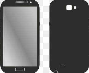 Black Smartphone - Samsung Galaxy Note 8 Android Smartphone Telephone PNG