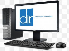 Dell Desktop - Output Device Computer Monitors Personal Computer Computer Hardware Desktop Computers PNG