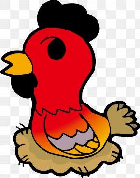 Vector Cartoon Chicken - Chicken Chinese Zodiac Rat PNG