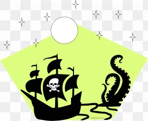Teapot Sailing Ship - Pirate Ship Cartoon PNG