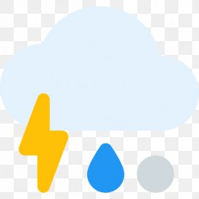 Thunderstorm Icon - Royalty-free Clip Art PNG