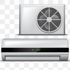 Air Conditioner - Air Conditioning Home Appliance Clip Art PNG
