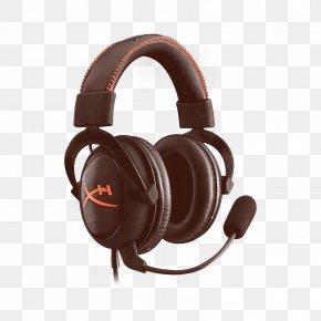 Output Device Multimedia - Headphones Kingston HyperX Cloud II Kingston Technology Headset PNG