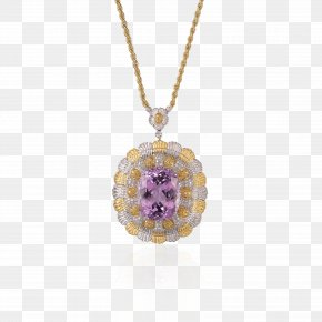 Jewellery - Amethyst Jewellery Earring Necklace PNG